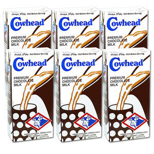 Cowhead Chocolate 6 Pack (1L per pack)