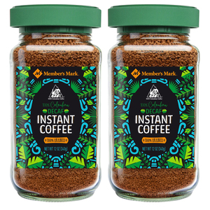 Member's Mark Coffee Instant Decaf 2 Pack (340g per pack)