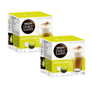 Nescafe Dolce Gusto Cafe Cappuccino 2 Pack (16 Count per box)