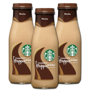Starbucks Frappuccino Mocha 3 Pack (280ml per bottle)