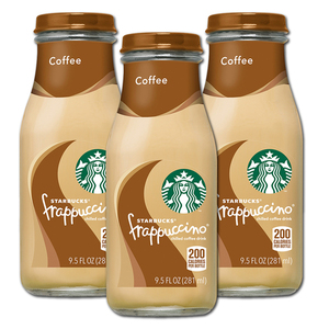 Starbucks Coffee Frappuccino 3 Pack (280ml per bottle)
