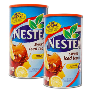 Nestea Iced Tea Lemon 2 Pack (2.56kg per can)