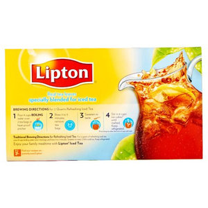 Lipton Iced Tea 3 Pack (48's per box)