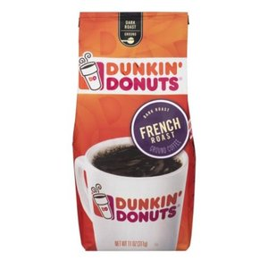 Dunkin' Donuts French Roast Ground Coffee 311g