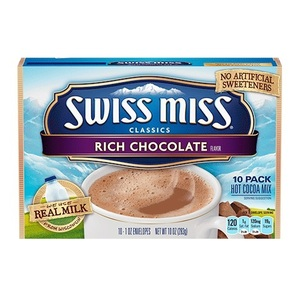 Swiss Miss Rich Chocolate 10 Pack (28.3g per Pack)