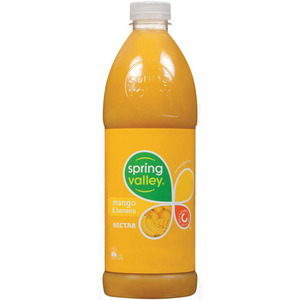Spring Valley Mango and Banana Juice 1.25L