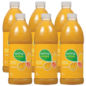 Spring Valley Mango and Banana Juice 6 Pack (1.25L per bottle)