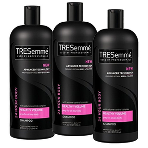 TRESemme 24 Hour Body Healthy Volume Shampoo 3 Pack (600ml per bottle)