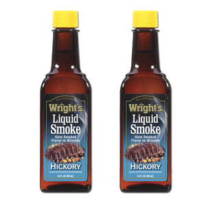 Wright's Hickory Flavored Liquid Smoke 2 Pack (103ml per pack)