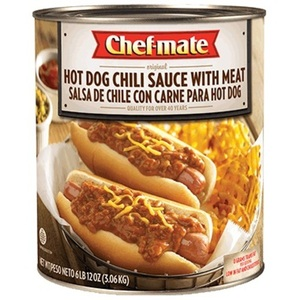 Chef-mate Hot Dog Chili Sauce with Meat 3.0kg