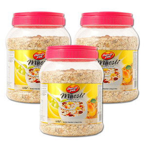 Dan-D Pak Muesli Tropical Fruit Oat Meal 3 Pack (1.35kg per pack)