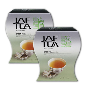Jaf Tea Jasmine Green Tea 2 Pack (100 Count per pack)