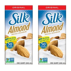 Silk Original Almondmilk 2 Pack (946ml Per Pack)