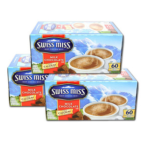 Swiss Miss Milk Choco Hot Cocoa 3 Pack (60 Count per box)