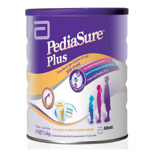 Abbott PediaSure Plus Classic Vanilla Milk Drink 1.6kg