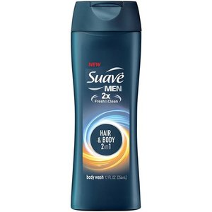 Suave Men 2-in-1 Hair & Body Wash 532ml