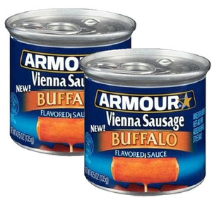 Armour Star Vienna Sausage Buffalo 2 Pack (130g Per Can)