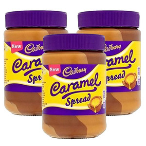 Cadbury Caramel Chocolate Spread 3 Pack (400g Per Jar)