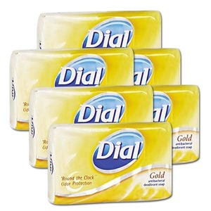 Dial Gold Antibacterial Soap Bar 6 Pack (113g per pack)