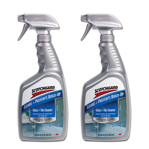 Scotchgard Glass & Tile Cleaner 2 Pack (828ml per pack)