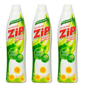 Zip Lemon Cream Cleanser 3 Pack (500ml per pack)