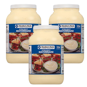 Member's Mark Extra Heavy Mayonnaise 3 Pack (3.78L per Jar)