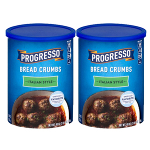 Progresso Italian Style Bread Crumbs 2 Pack (1.13Kg per can)