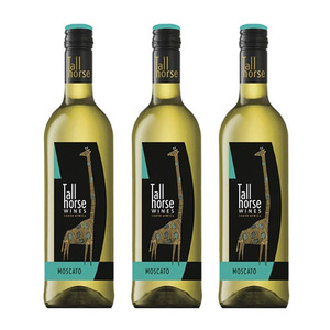 Tall Horse Moscato Wine 3 Pack (750ml per Pack)
