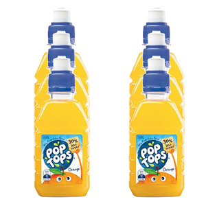 Pop Tops Orange Juice 6 Pack (250ml per pack)