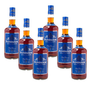 Fundador Ultra Smooth Brandy 6 Pack (1L per Bottle)