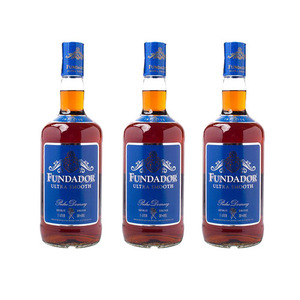 Fundador Ultra Smooth Brandy 3 Pack (1L per Bottle)