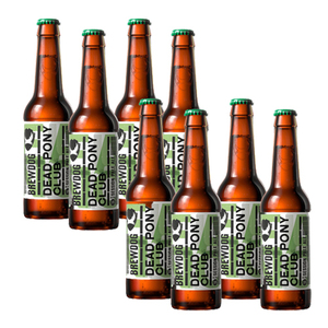 Brewdog Dead Pony Club Pale Ale Bottle 2 Pack (4x330ml per Pack)
