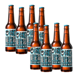 Brewdog Punk IPA Ale Bottle 2 Pack (4x330ml per Pack)