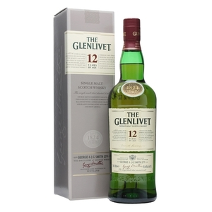 The Glenlivet 12 Year Old Scotch Whisky 750ml