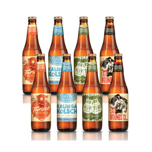 Crazy Carabao Craft Beer Tasting Pack 2 Pack (4x330ml per Pack)