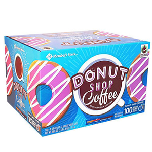 Member's Mark Donut Shop Coffee (100 Count per box)