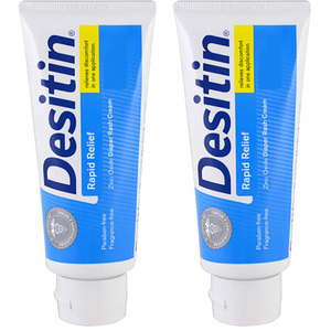 Desitin Rapid Relief Diaper Rash Cream 2 Pack (99g per pack)