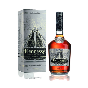Hennessy V.S Cognac Limited Edition by Scott Campbell 700ml