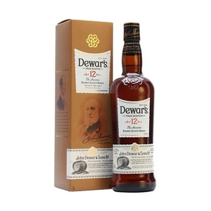 Dewar's 12 Year Old Blended Scotch Whisky 2 Pack (750ml per Bottle)