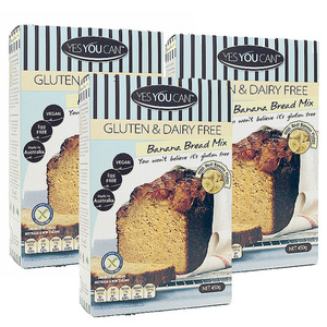 Yes You Can Gluten-Free Banana Bread Mix 3 pack (450g per pack)