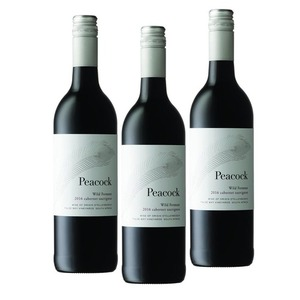 Peacock Wild Ferment Cabernet Sauvignon 2016 3 Pack (750ml per Bottle)