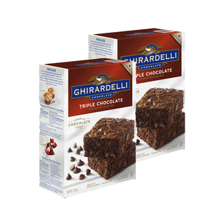 Ghirardelli Triple Chocolate 2 Pack (3.4kg per pack)