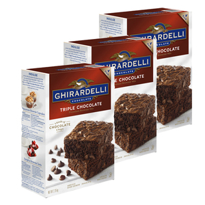 Ghirardelli Triple Chocolate 3 Pack (3.4kg per pack)