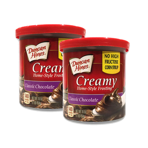 Duncan Hines Chocolate Frosting 2 Pack (454g per pack)