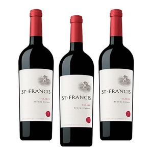 St. Francis Claret Sonoma County 2011 Wine 3 Pack (750ml per Bottle)