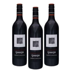 Gossips Cabernet Sauvignon 2016 Wine 3 Pack (750ml per Bottle)