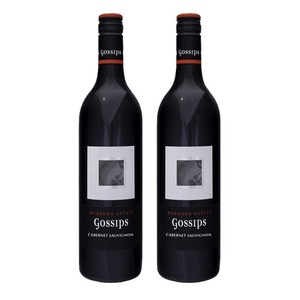 Gossips Cabernet Sauvignon 2016 Wine 2 Pack (750ml per Bottle)
