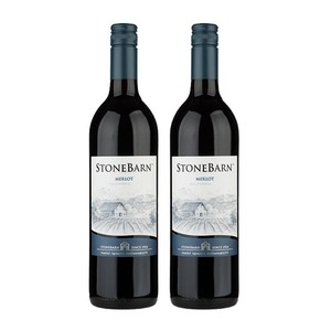 Stone Barn California Merlot 2 Pack (750ml per Bottle)