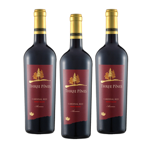 Three Pines Cardinal Red Sweet Blend NV 3 Pack (750ml per Bottle)