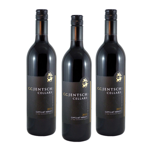 C.C. Jentsch Cellars Cabernet Merlot 2013 3 Pack (750ml per Bottle)